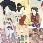 開花ガール カラーカード6枚セット