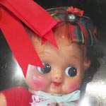 懐かしのセルロイドリボン少女復刻版L
