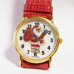 クリスマス サンタ腕時計